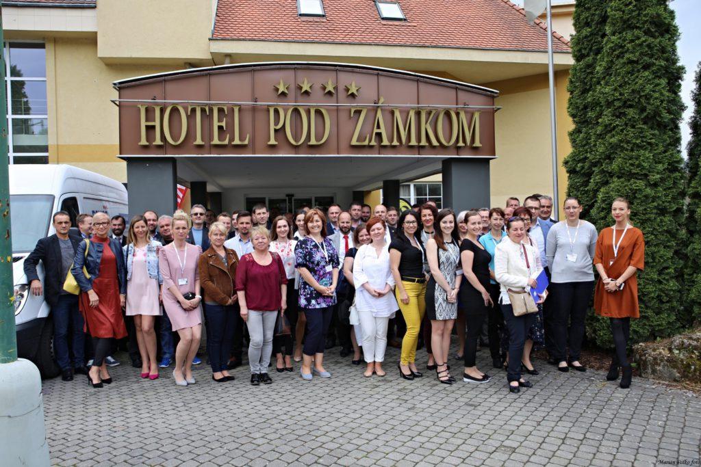Spoločná fotografia, Medzinárodná konferencia incoboz 2018, international conference osh incoboz 2018